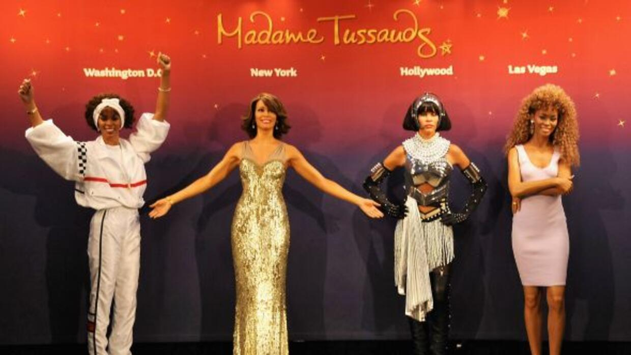El museo Madame Tussauds le rinde un merecido homenaje a Whitney Houston...