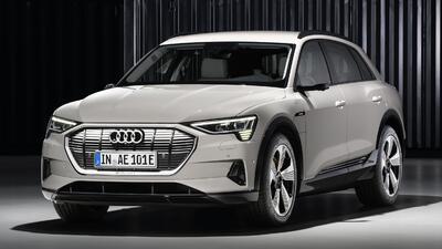 Audi responde al reto de Tesla con la e-tron, su primera SUV eléctrica