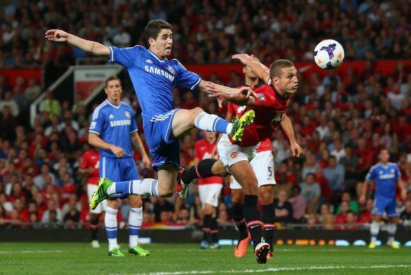 El United insistía en busca del primer gol del partido, pero Chelsea def...