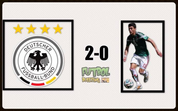 El 'Tri' no se salva de los duros memes tras la derrota con Alemania 195...