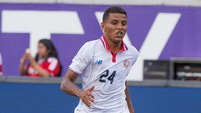 Johan Venegas, selección Costa Rica