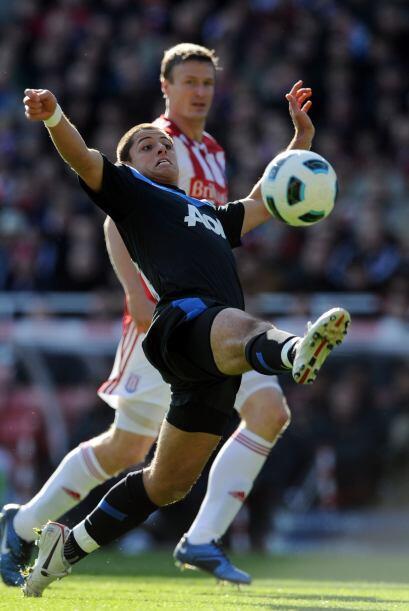 El partido le tenía una sorpresa agradable a Javier Hernández, el Chicha...