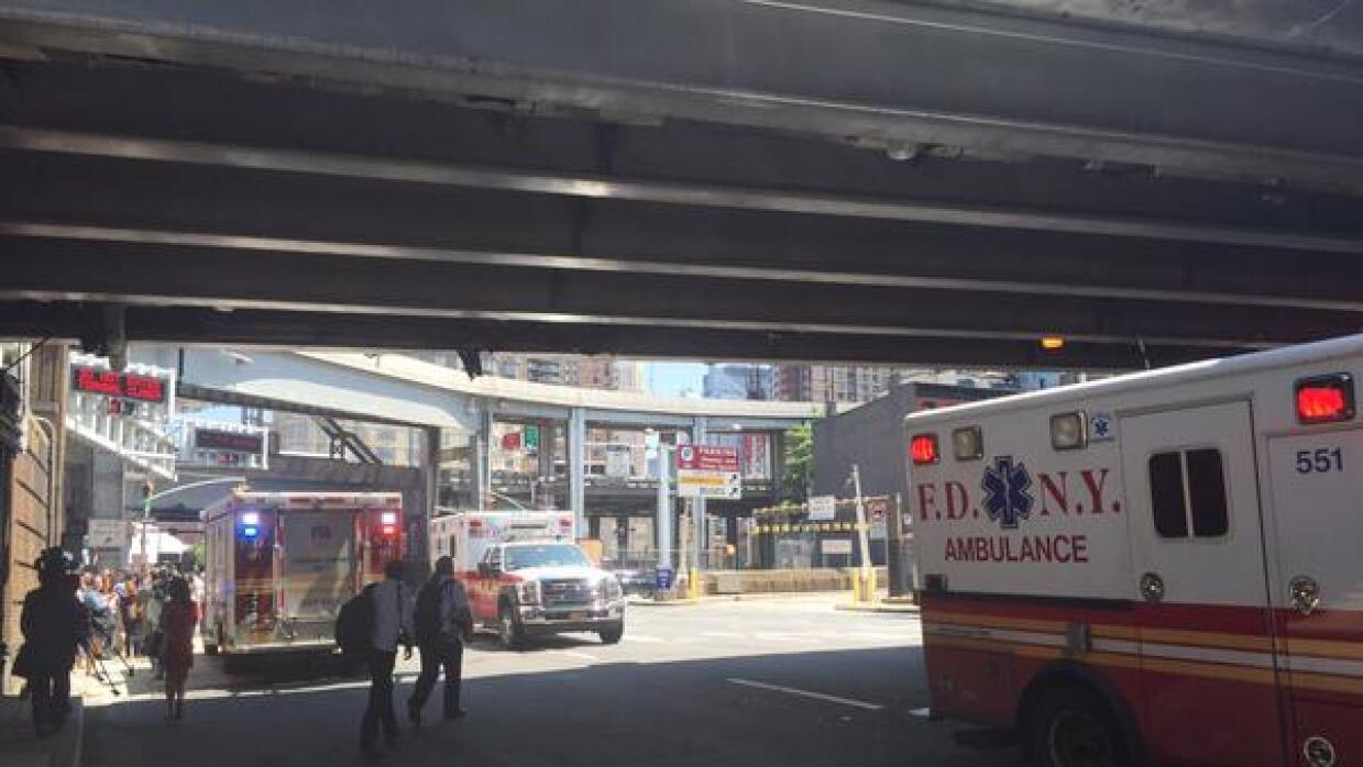 Accidente en el Lincoln Tunnel deja 18 heridos