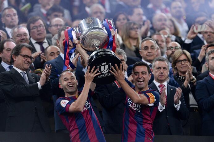 Iniesta y Barcelona, una historia de amor que durará toda la vida gettyi...