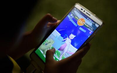 El juego de realidad aumentada Pokemon Go. Cerca de 60 millones de perso...