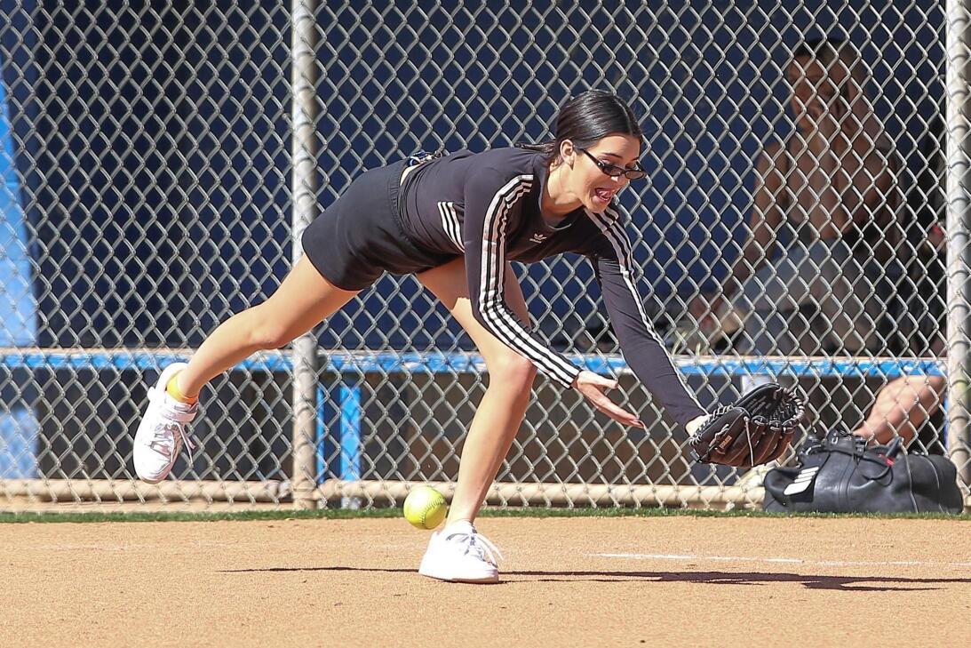 Las Kardashian-Jenner beisbol