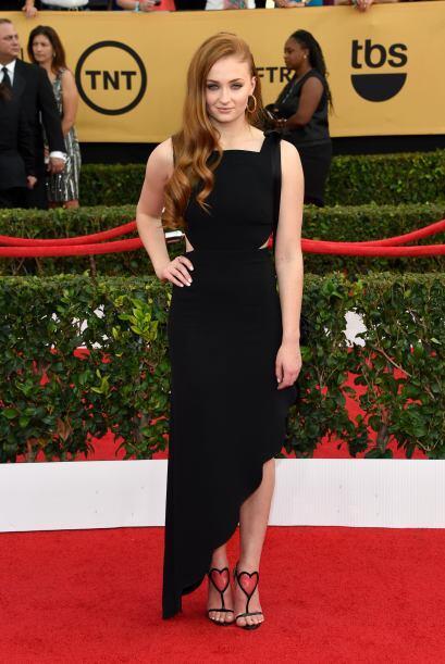 La bella Sansa Stark de 'Game of Thrones', Sophie Turner.