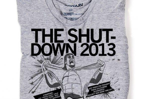 """""""No productividad. No misericordia"""", dice esta camiseta que se consigue..."""