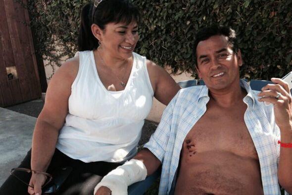 Steve Robles sobrevivió un ataque de tiburón en las playas de Manhattan...