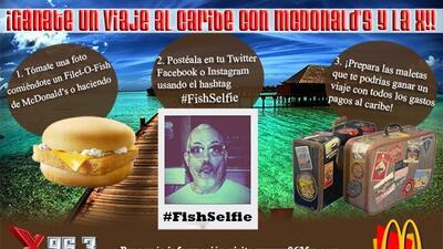 #FishSelfie