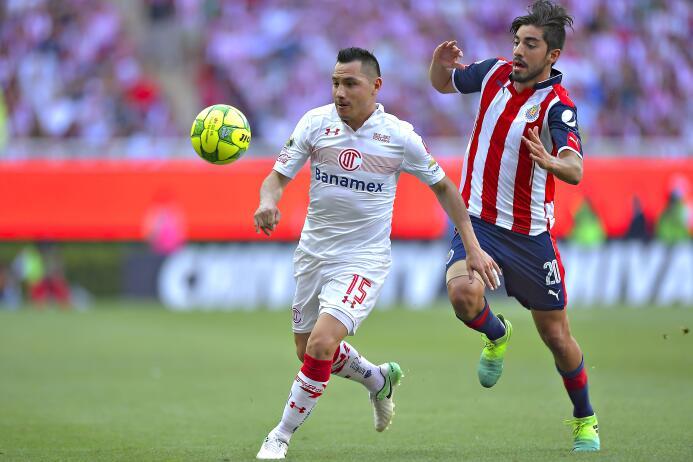 Del Toluca no se ha movido, convirtiéndose en un jugador representativo...