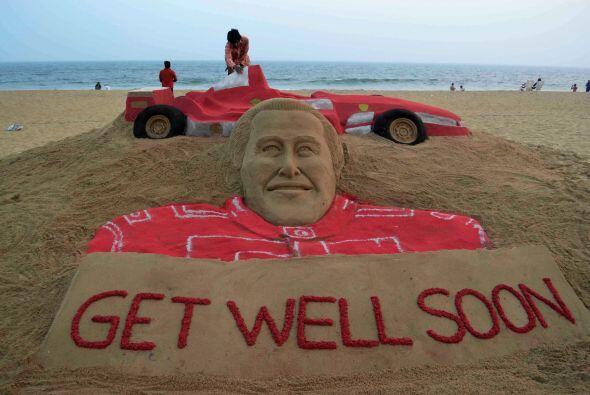 La vida de Michael Schumacher corre peligro, aunque los últimos pronósti...