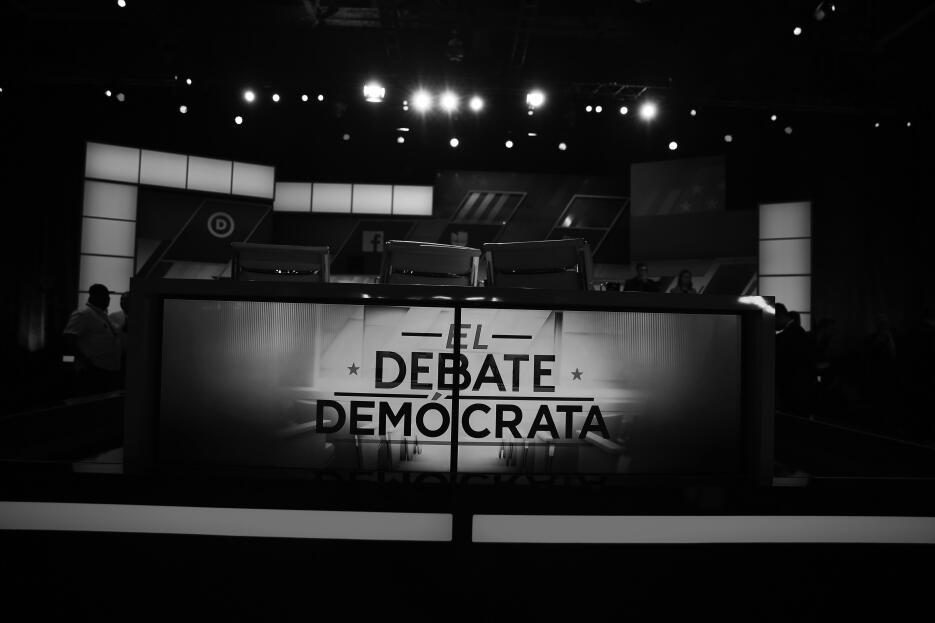 Dentro del debate demócrata más hispano 1_DemDeb_CreditoAlmudena%20Toral...