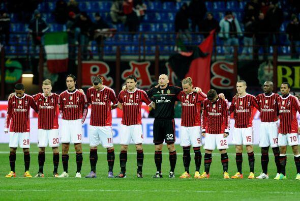Pero el Milan es un histórico de la Liga de Campeones y se encuen...