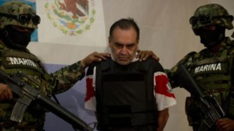 """Las autoridades mexicanas capturaron a Manuel Alquisires García, alias """"..."""