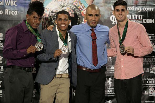 Miguel Cotto ya es un boxeador histórico en Puerto Rico (Foto: Cotto Pro...