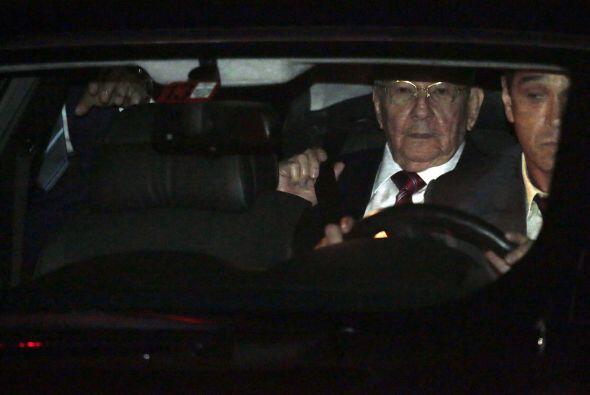 Raúl Castro, a su llegada a Panamá