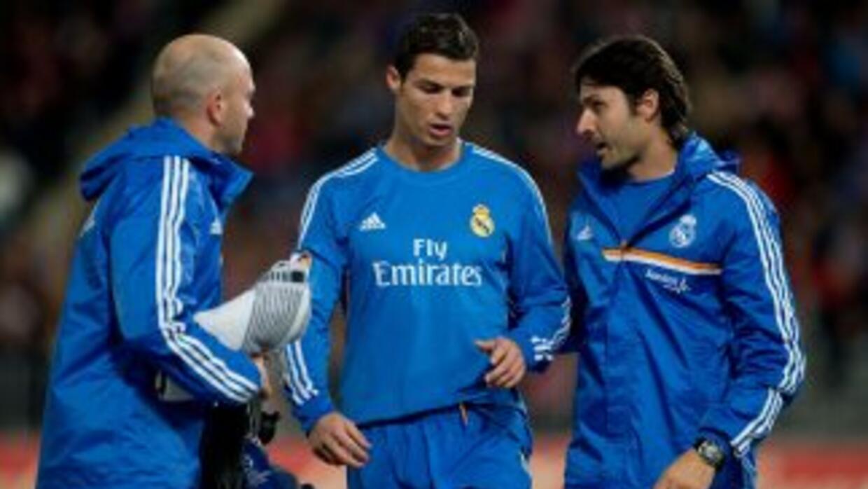 Ronaldo está en duda para jugar ante el Galatasaray.