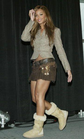 Llevarlas con una minifalda será una moda que sólo las chicas más atrevi...