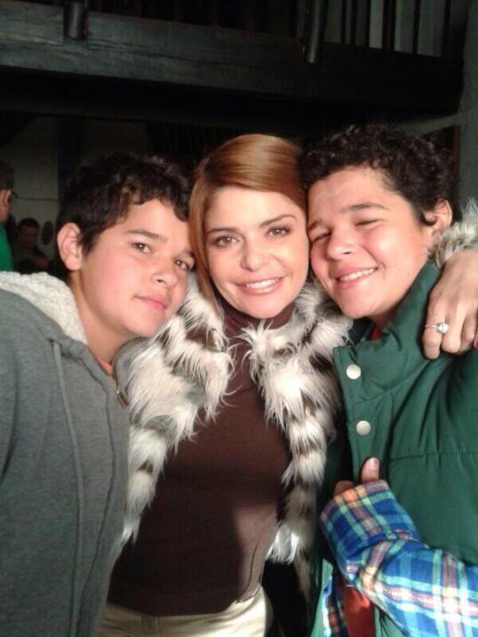 Así lucen los hijos de Itatí Cantoral en la actualidad