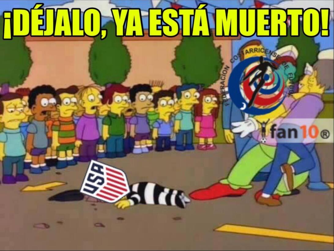 Las burlas de la fecha en Concacaf fueron hacia México y a Estados Unido...