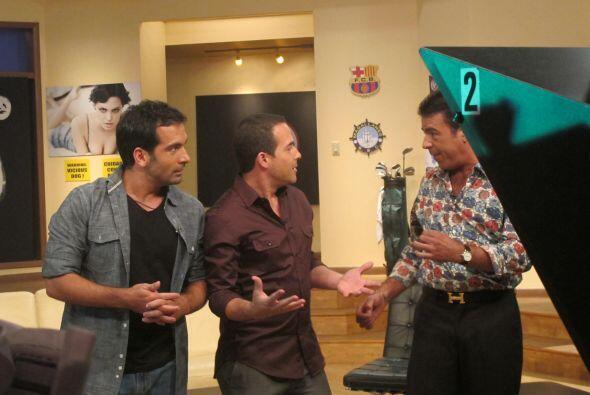 Daniel, Carlos y Gabriel son unos maestros de la conducción.