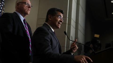 Xavier Becerra, fiscal general de California, hizo énfasis en que...