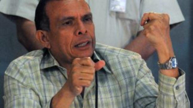 El presidente de Honduras,Porfirio Lobo.