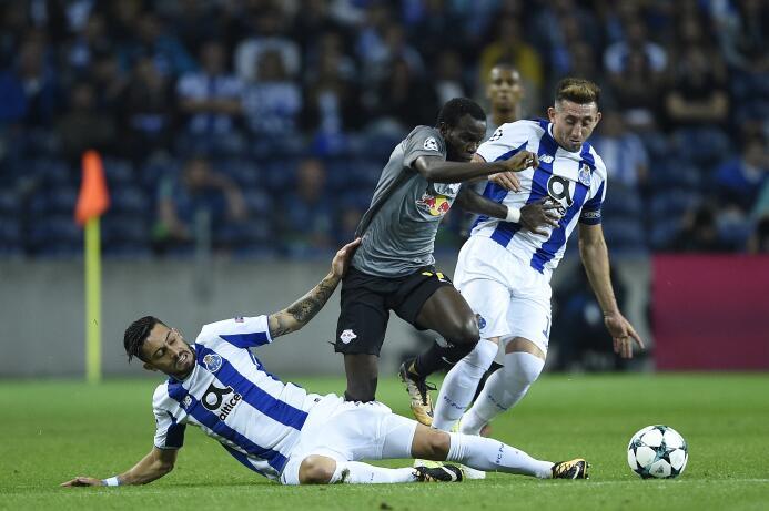 Héctor Herrera fue figura en el triunfo de Porto en Champions gettyimage...