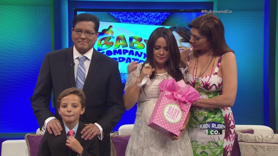En Rubén & Co pudimos ver en 4D a #BabyCompany, la pequeña Kamilia que e...