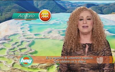 Mizada Acuario 22 de junio de 2017