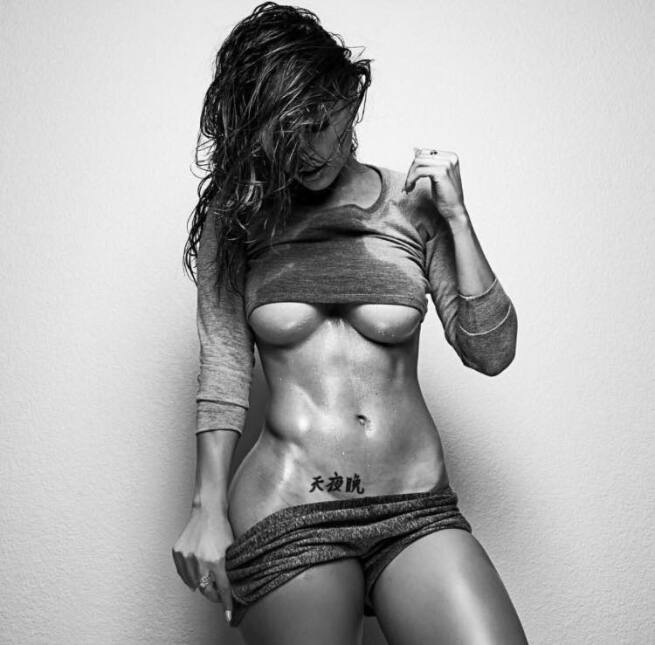 Tianna, la bella modelo estadounidense, 'incendia' cada día las redes so...