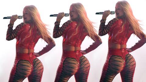 Iggy Azalea causa sensación por el vestuario en Premios Juventud...