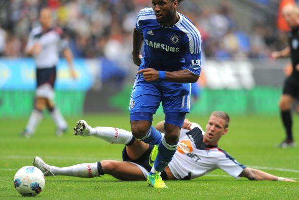Chelsea abrió la jornada dominical de la fecha 7 en la Liga Premier ingl...