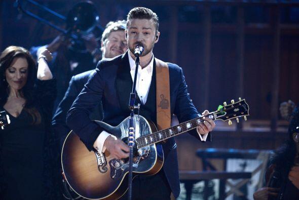 Justin Timberlake: Este cantante también se suma a la competencia en la...