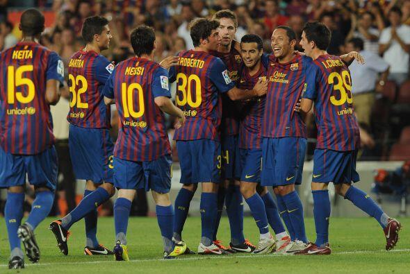 No hubo tiempo para más goles, pero los que hubo fueron más que suficien...