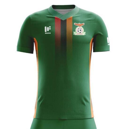 Después de varios años con diseños Nike sin mucha chispa, Zambia estrenó...