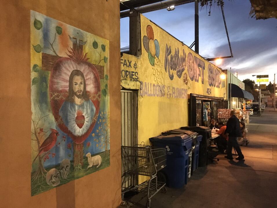 Los pandilleros, según expertos, respetan los murales con represe...