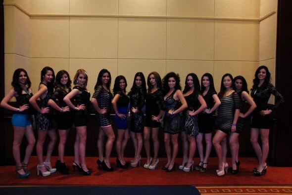 Nuestra Belleza Latina logró reunir a cientos de chicas.