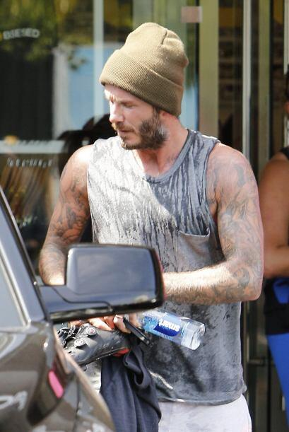 Beckham se ha vuelto un fanático del gimnasio.Más videos del Mundial y G...