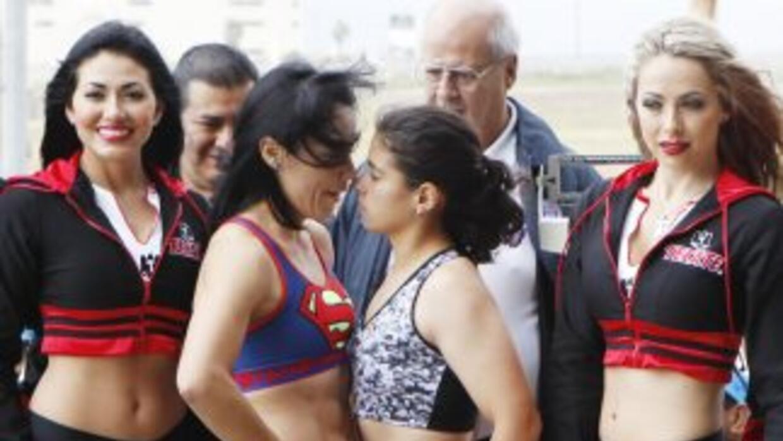 Jackie nava y Mayra Gómez en peso (Foto: Zanfer).