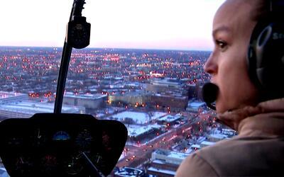 Sophia Matías, la piloto puertorriqueña que vive en Chicago