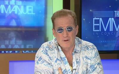 El cantante Emmanuel está de visita en San Antonio promocionando su conc...