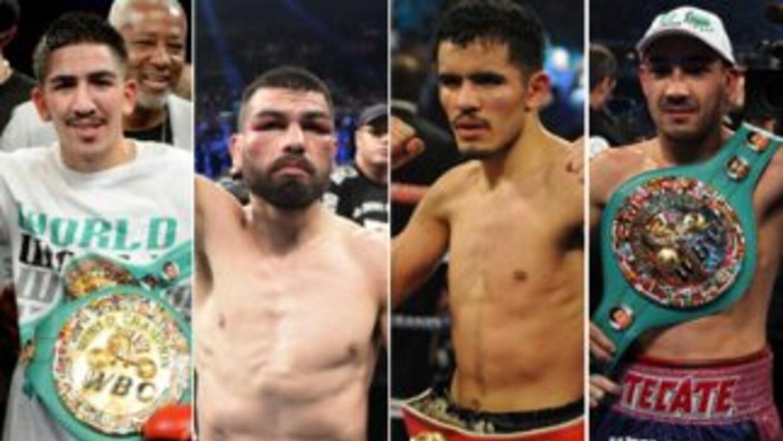 Santa Cruz, Angulo, Vázquez y Soto estarán en el respaldo de Mayweather-...