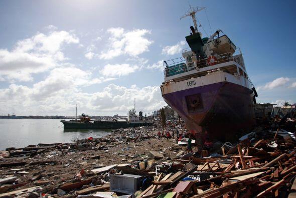 Las autoridades filipinas han reconocido que la tragedia los sobrepasó y...