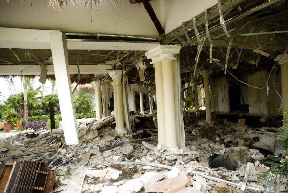 Una explosión en un hotel del balneario mexicano de Playa del Car...