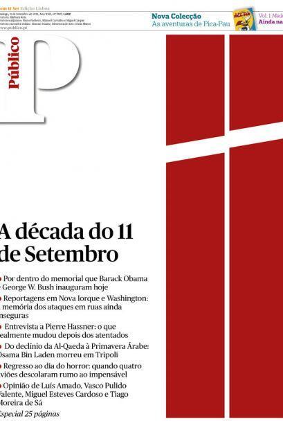 Cortesía del diario Público, de Lisboa, Portugal, vía Newseum.