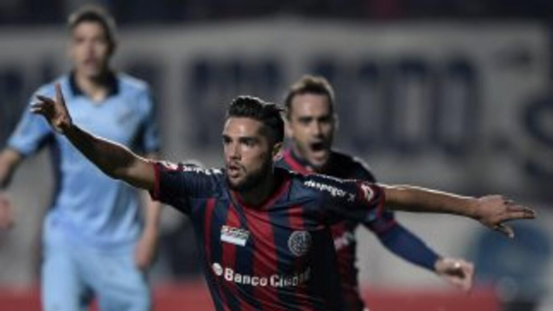 San Lorenzo goleó a Boolivar en las semifinales de la Copa Libertadores...