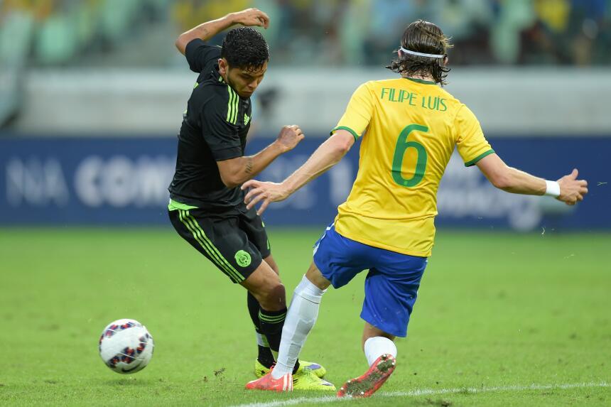 Calificamos a los jugadores del Brasil vs. México GFilipe Luis.jpg