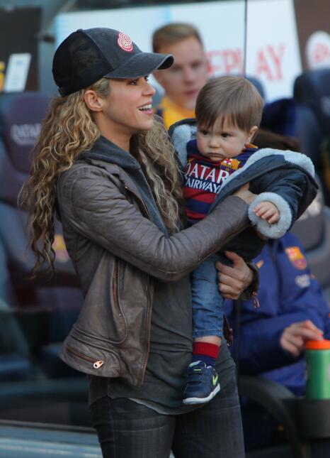 Shakira, Milan y Sacha